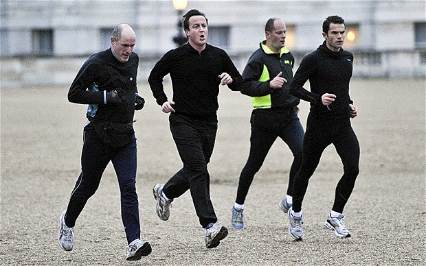 Joggers in Running Outfits