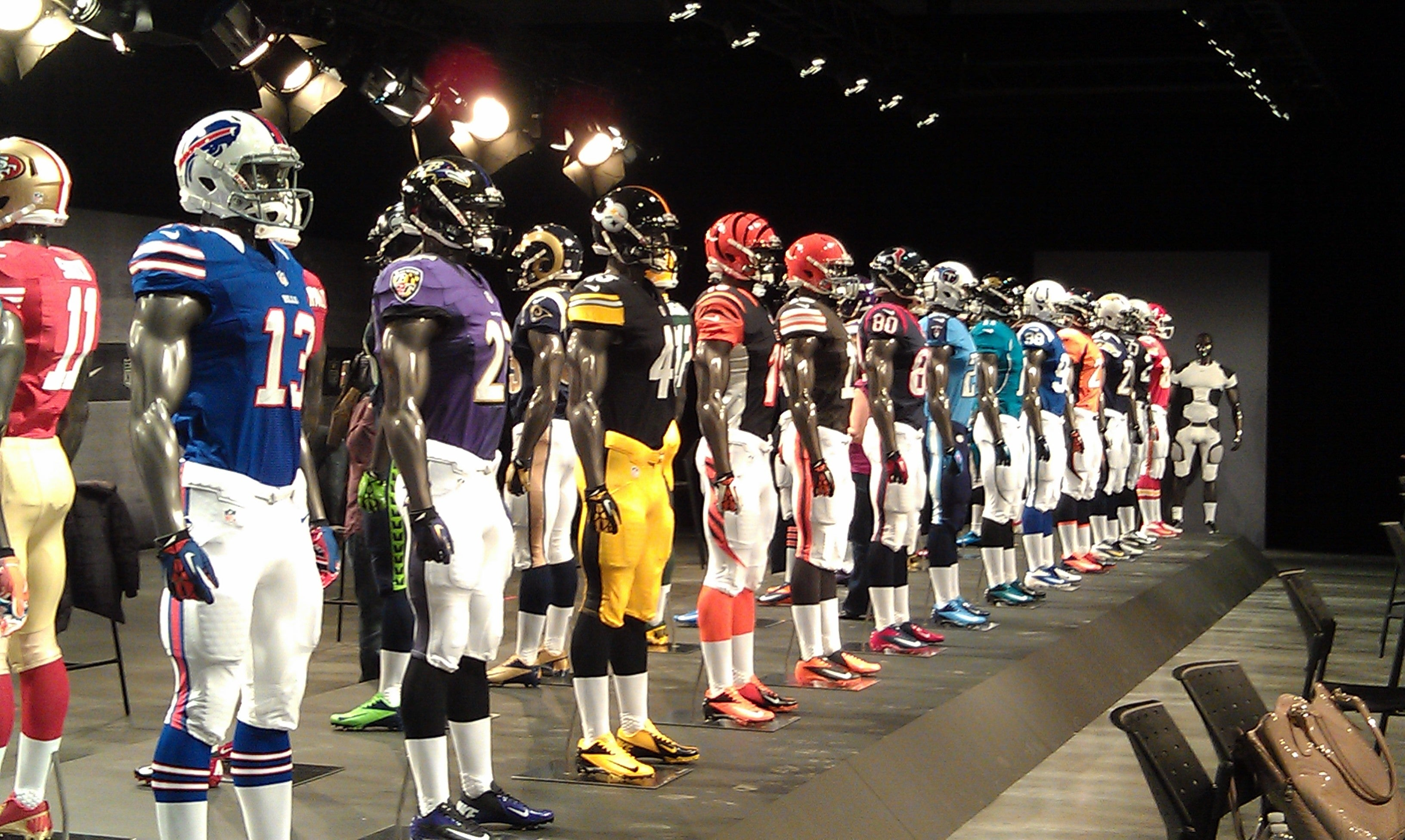 NFL Team Uniforms
