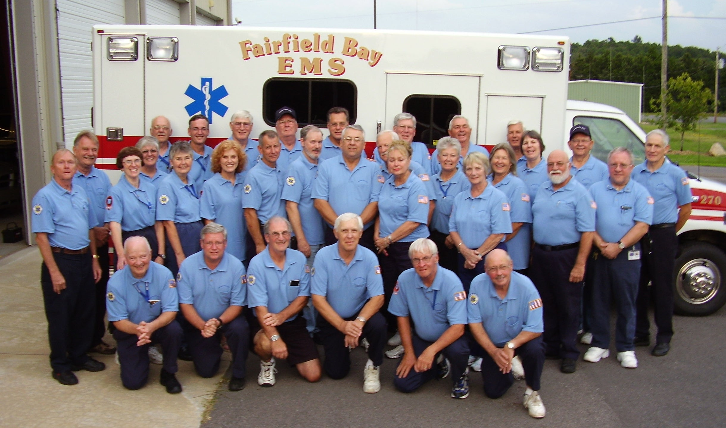 Group of Emergency Medical Technicians