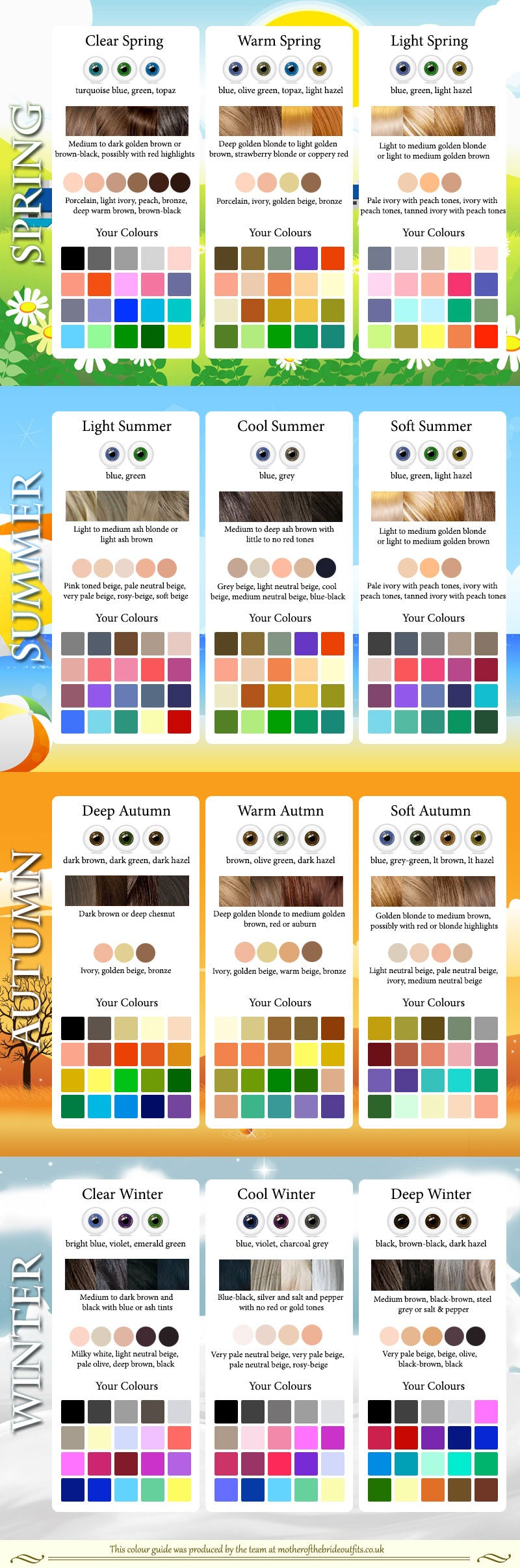 Matching Color Guide