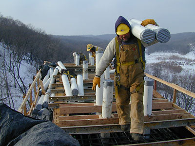 Workers in Winter