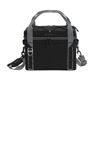 eddie bauer max cool 24-can cooler eb800 black/ greysteel