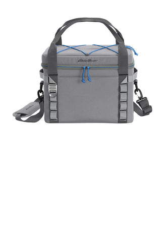eddie bauer max cool 24-can cooler eb800 metal grey/expedition blue