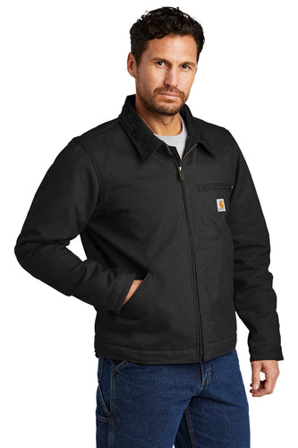 Carhartt Duck Detroit Jacket CT103828 Black