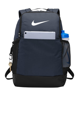 nike brasilia backpack ba5954 midnight navy