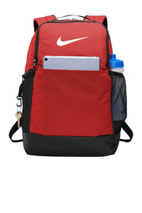 nike brasilia backpack ba5954 university red