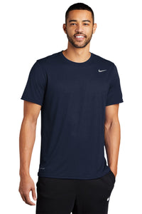 nike legend tee 727982 college navy