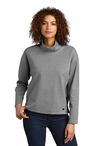 OGIO Petrol Grey He LOG822 sweatshirts with company logo