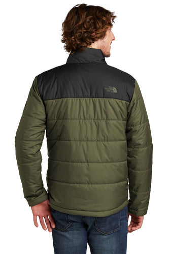 The North Face Burnt Olive Green NF0A529K custom logo jackets