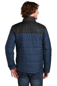 The North Face Shady Blue NF0A529K company jackets with logo