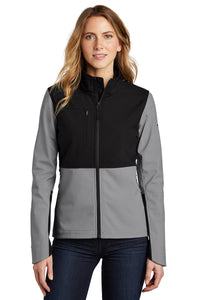 The North Face Mid Grey NF0A5541 embroidered jackets for business