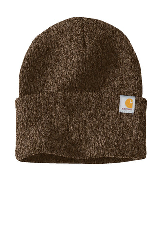 Carhartt Watch Cap 20 CT104597 Dark Brown/ Sandstone