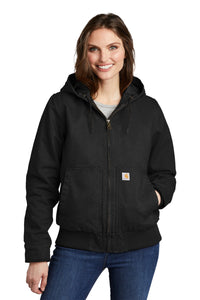 Carhartt Black CT104053 company jackets with logo