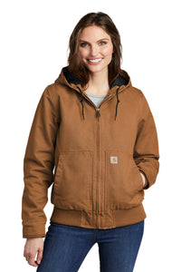 Carhartt Carhartt Brown CT104053 custom logo jackets