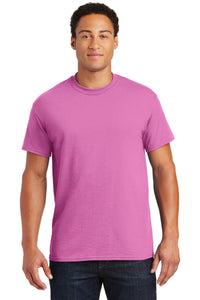 gildan dryblend cotton poly t shirt 8000 azalea