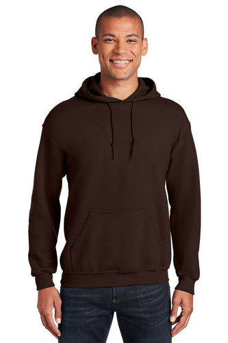 Gildan Dark Chocolate 18500 custom design sweatshirts