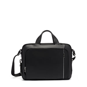 Tumi Sadler Brief Leather 1173331041 Black Leather