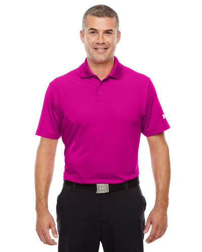 Under Armour Tropic Pink 1261172 custom team polo shirts