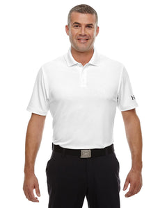 Under Armour White 1261172 custom business polo shirts