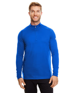 Under Armour Ua Tech Quarter Zip Royal/ White 400