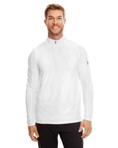 Under Armour Ua Tech Quarter Zip White/ Graphite 100