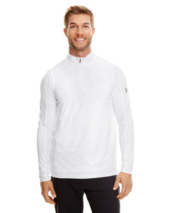 Under Armour White/ Graphite 1300131 custom dri fit sweatshirts