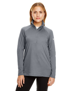 Under Armour Graphite/ White 1300132 custom dri fit sweatshirts