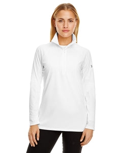 Under Armour White/ Graphite 1300132 custom dri fit sweatshirts