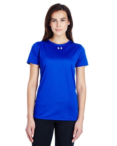 Under Armour Ladies Locker T-Shirt 2.0 Royal/ M Silver 1305510