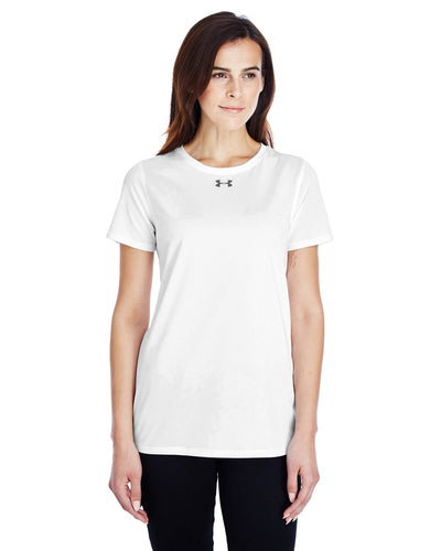 Under Armour Ladies Locker T-Shirt 2.0 WHITE/ GRAPH 1305510