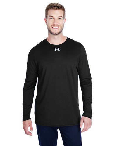 Under Armour Long Sleeve Locker Tee 2.0 Black/ M Silver 1305776