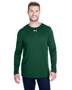 Under Armour Long Sleeve Locker Tee 2.0 Fr Green/ M Silver 1305776