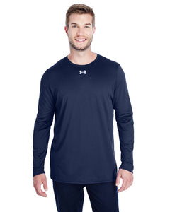 Under Armour Long Sleeve Locker Tee 2.0 Midnight Navy/ M Silver 1305776