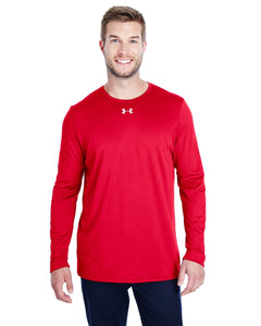 Under Armour Long Sleeve Locker Tee 2.0 Red/ M Silver 1305776