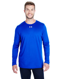 Under Armour Long Sleeve Locker Tee 2.0 Royal/ M Silver 1305776