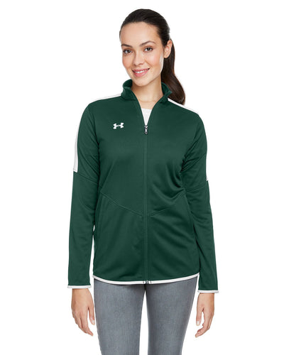 embroidered team jackets Under Armour FOREST GRN 301 1326774