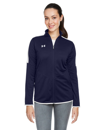 embroidered jackets for business Under Armour MIDNGHT NVY 410 1326774