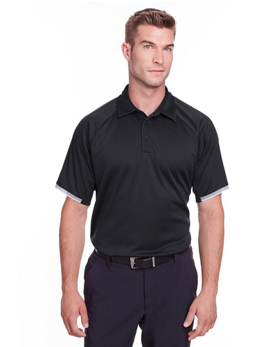 Under Armour Mens Corporate Rival Polo Black 1343102