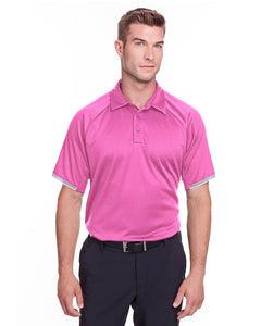 Under Armour Mens Corporate Rival Polo Pink Edge 1343102
