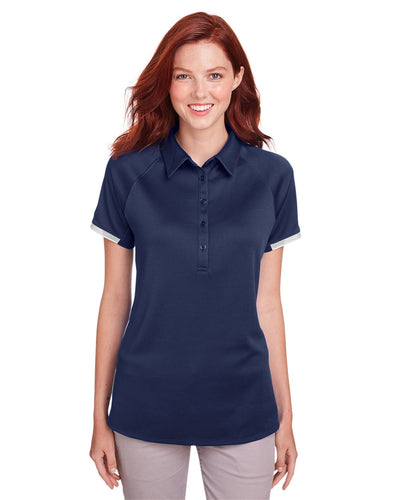 Under Armour Ladies' Corporate Rival Polo Mdnight Nvy 1343675