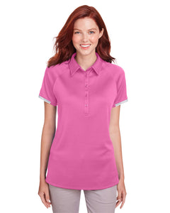 Under Armour Ladies' Corporate Rival Polo Pink Edge 1343675