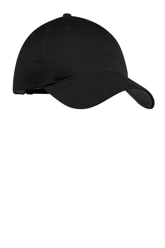 nike unstructured twill cap 580087 deep black