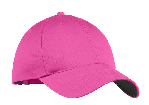nike unstructured twill cap 580087 fusion pink