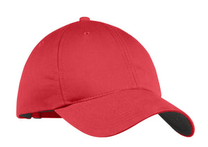 nike unstructured twill cap 580087 gym red