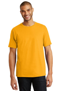 hanes tagless cotton t shirt 5250 gold