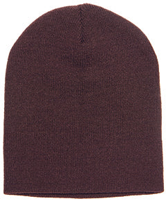 Yupoong Adult Knit Beanie 1500 BROWN