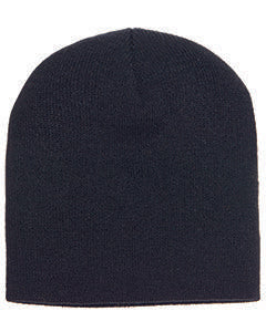 Yupoong Adult Knit Beanie 1500 BLACK