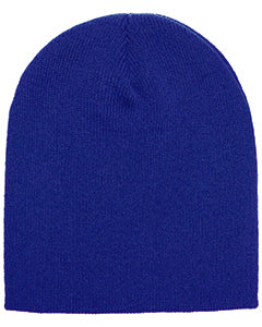 Yupoong Adult Knit Beanie 1500 ROYAL