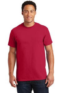 gildan ultra cotton t shirt 2000 cherry red