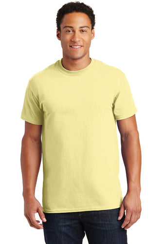 gildan ultra cotton t shirt 2000 cornsilk
